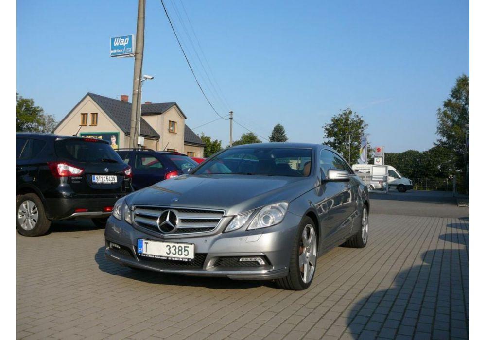 Mercedes-Benz Třídy E 250 cdi Coupe