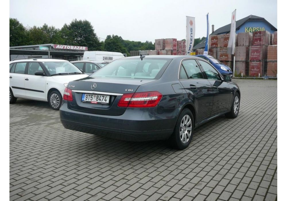 Mercedes-Benz Třídy E E 250 CDI BlueEFFICIENCY