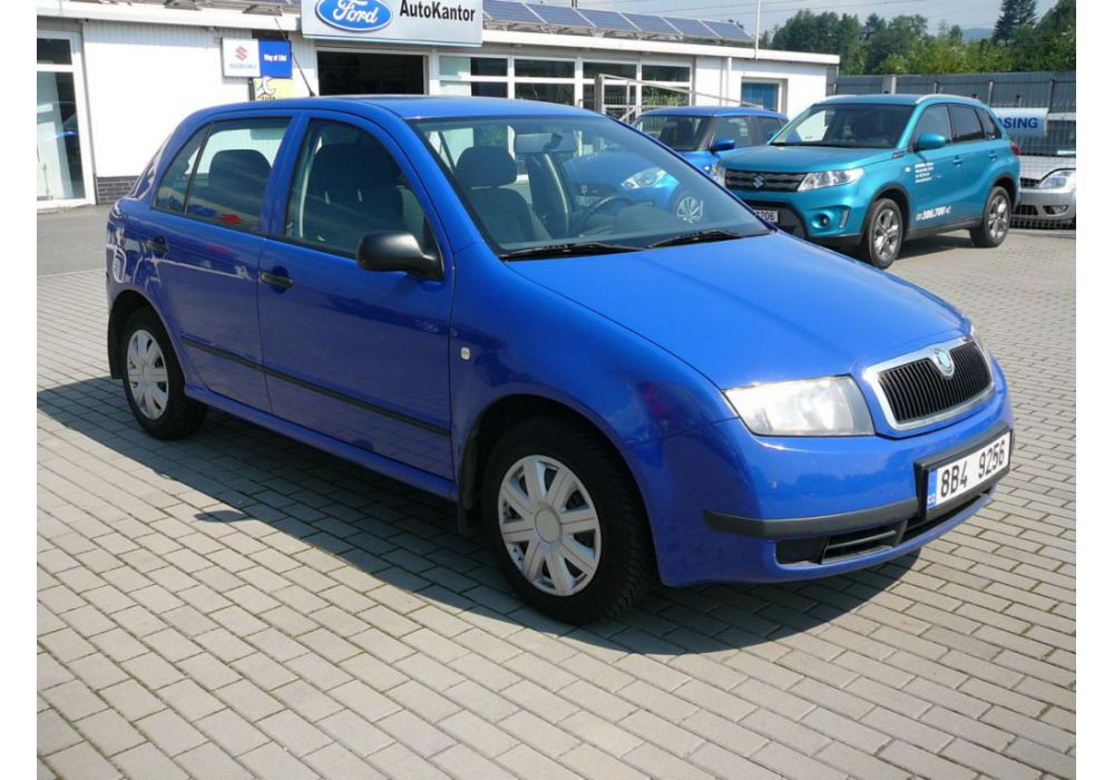 Škoda Fabia 1,2HTP KLIMA